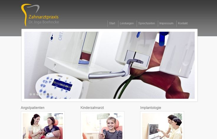Webdesign Zahnarzt Bremen