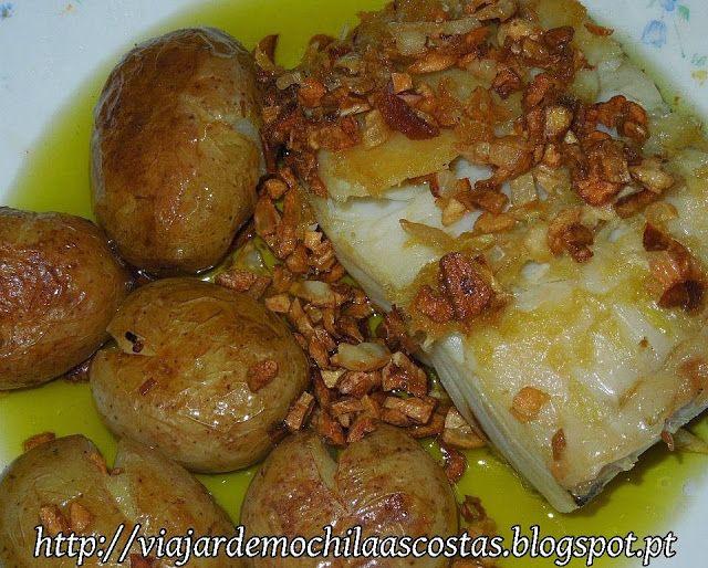Viajar de mochila s costas bacalhau no forno com batatas for Portuguese cod fish recipes