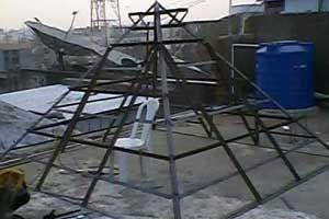 Narayana Pyramid Meditation Center http://www.pyramidseverywhere.org/pyramids-directory/telangana/medak-district  #Pyramid #Pyramids
