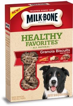 Milk-Bone Healthy Favorites Granola- BeefHealthy Favorite, Dogs, Healthy Biscuits, Milkbone Healthy, Milk Bones, Favorite Granola, Granola Biscuits, Milkbone Trail, Milk Bon Healthy