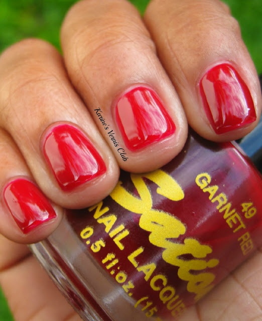 Sation Garnet Red | My polishes | Pinterest | Garnet, Red and Html