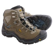 Keen Durand Mid Hiking Boots - Waterproof, Leather (For Men) in Brindle/Midnight Navy - Closeouts