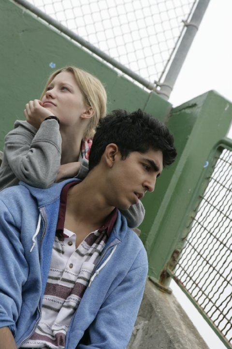 Still of Dev Patel and Ashley Hinshaw in About Cherry (2012)