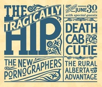 The Tragically Hip: 2012