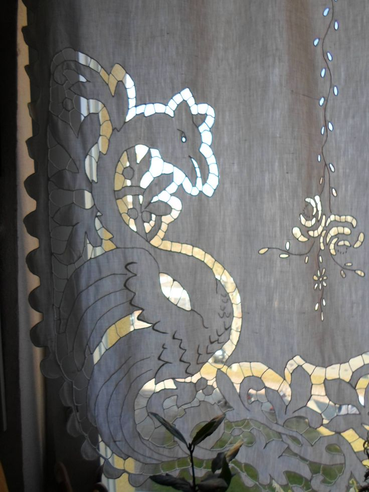 Drachen vor meinem Küchenfenster...Dragons for my windows...