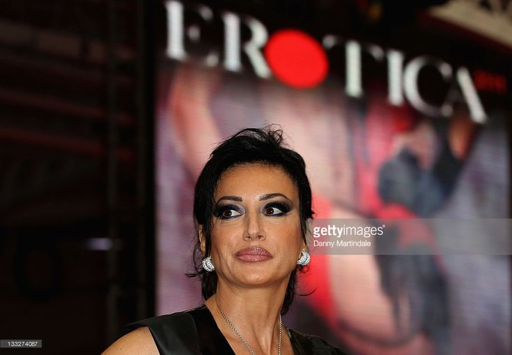 Nancy Dell'olio is seen attending Erotica 2011 at Olympia on November 18, 2011 in London, England.