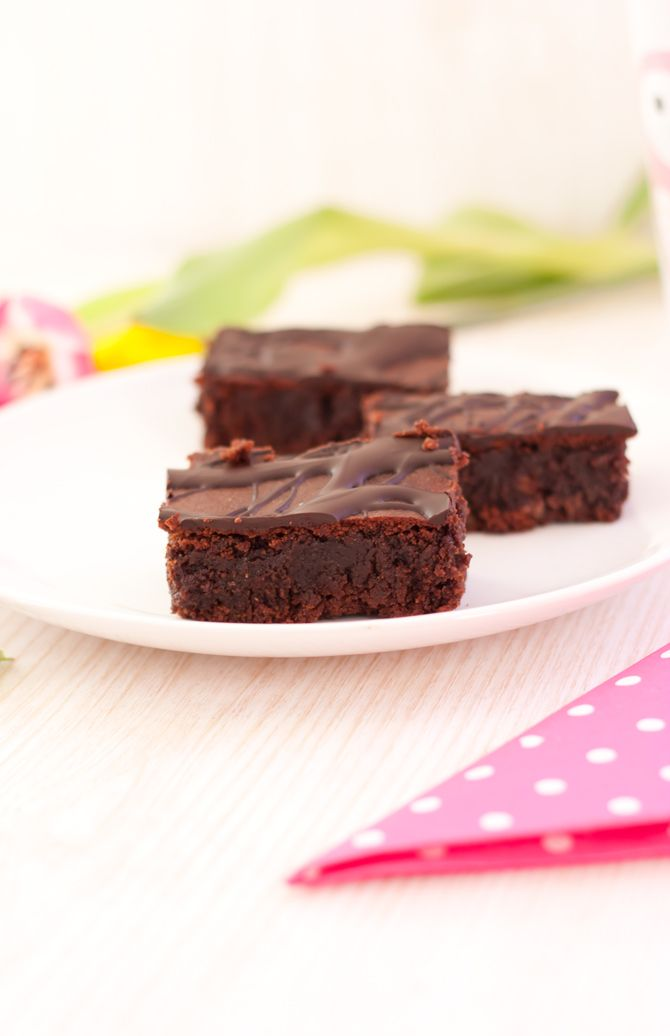 lowcarb_brownies  Anstelle von Butter Apfelmus