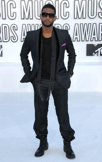 usher fashion trend for black men