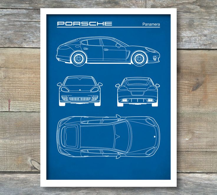 Patent Print, Porsche Panamera Blueprint, Porsche Panamera Poster, Porsche Panamera Art, Porsche Panamera Decor, P287 by NeueStudioArtPrints on Etsy