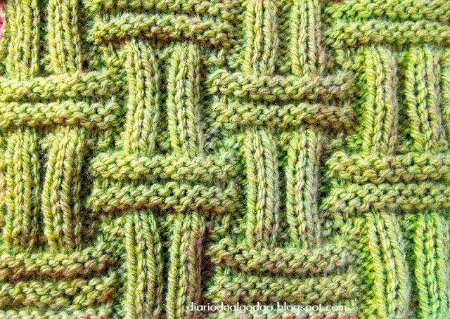 Tricô: Ponto Assoalho – Tricotando Crochê
