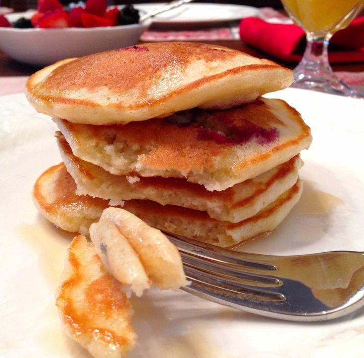 Neil's pancakes from Clinton Street Baking Company #dallasduobakes