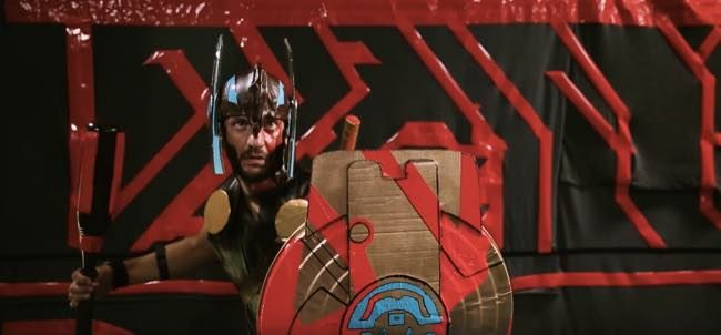 The Thor: Ragnarok Homemade Trailer Is a Cardboard Filled Masterpiece - http://www.entertainmentbuddha.com/the-thor-ragnarok-homemade-trailer-is-a-cardboard-filled-masterpiece/