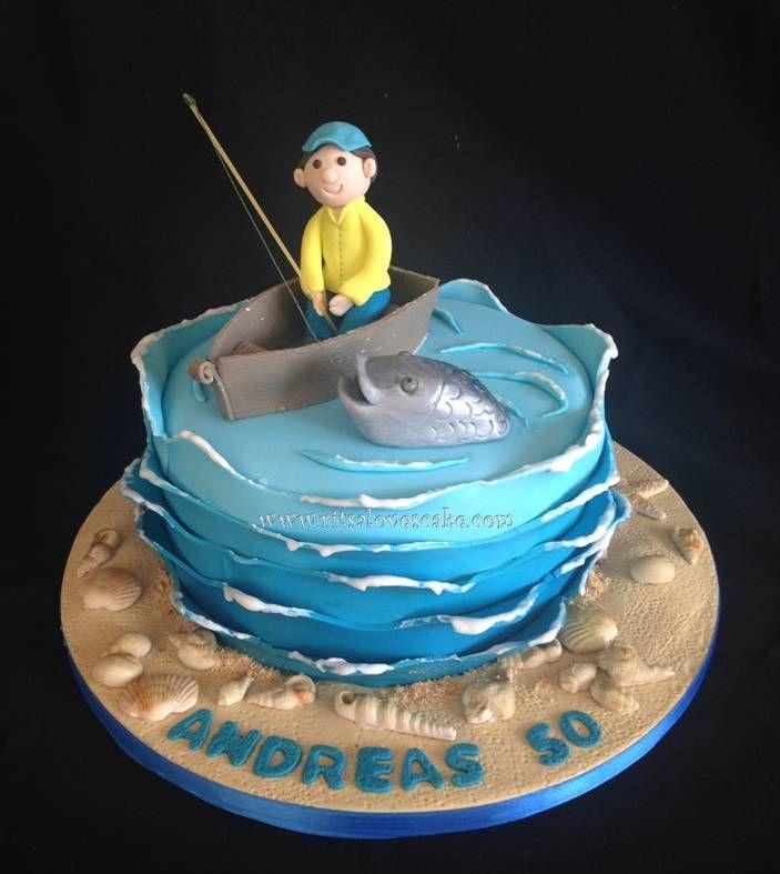 11 best Fisherman images on Pinterest Fisherman cake Fishing