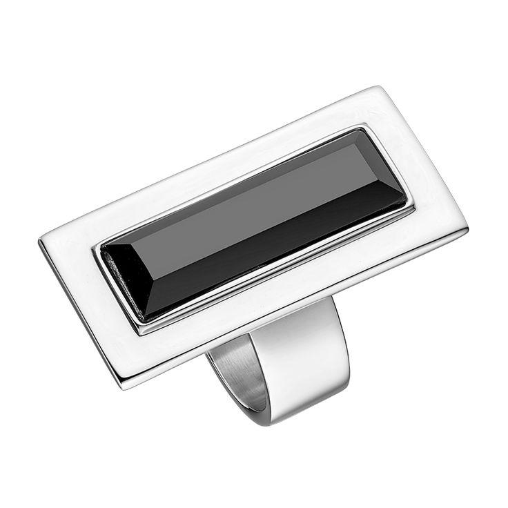 Tocara ring Black stone Stainless Steel Online order : https://www.tocaraplus.com/sylviedenault/IndvItem.asp?InventoryID=2732