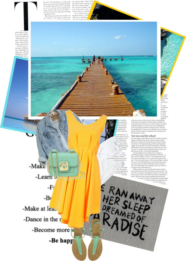 """""""#9-On vacation in Mexico for a week"""" by smooch09 ❤ liked on Polyvore"""