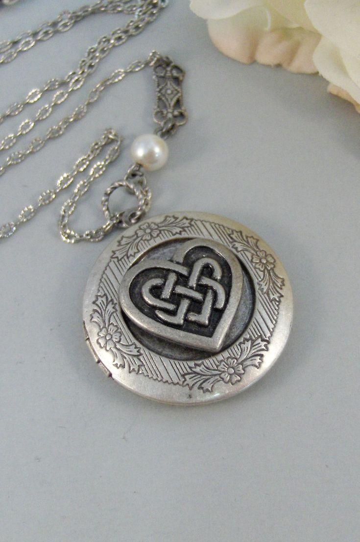 Celtic Heart Locket