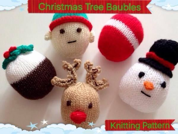 11 Best Knitting Patterns Christmas Decorations Images On Pinterest
