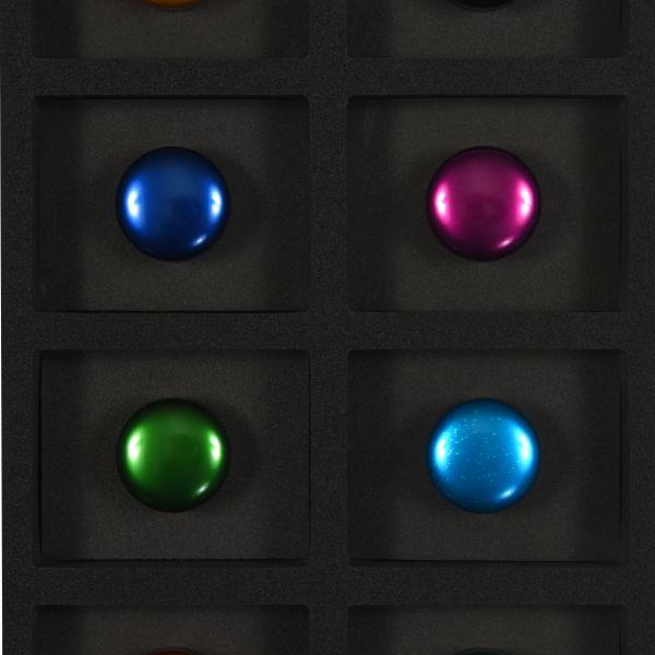 Différentes couleurs disponibles pour notre gamme d'étuis à cigare CLARITY et CLARITY ONE