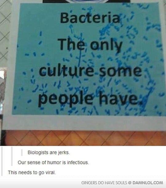 Biologist Humor - Damn! LOL