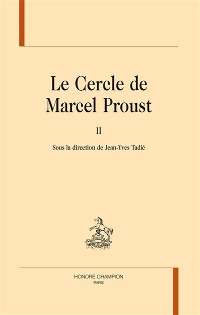 Le cercle de Marcel Proust - Librairie Mollat Bordeaux