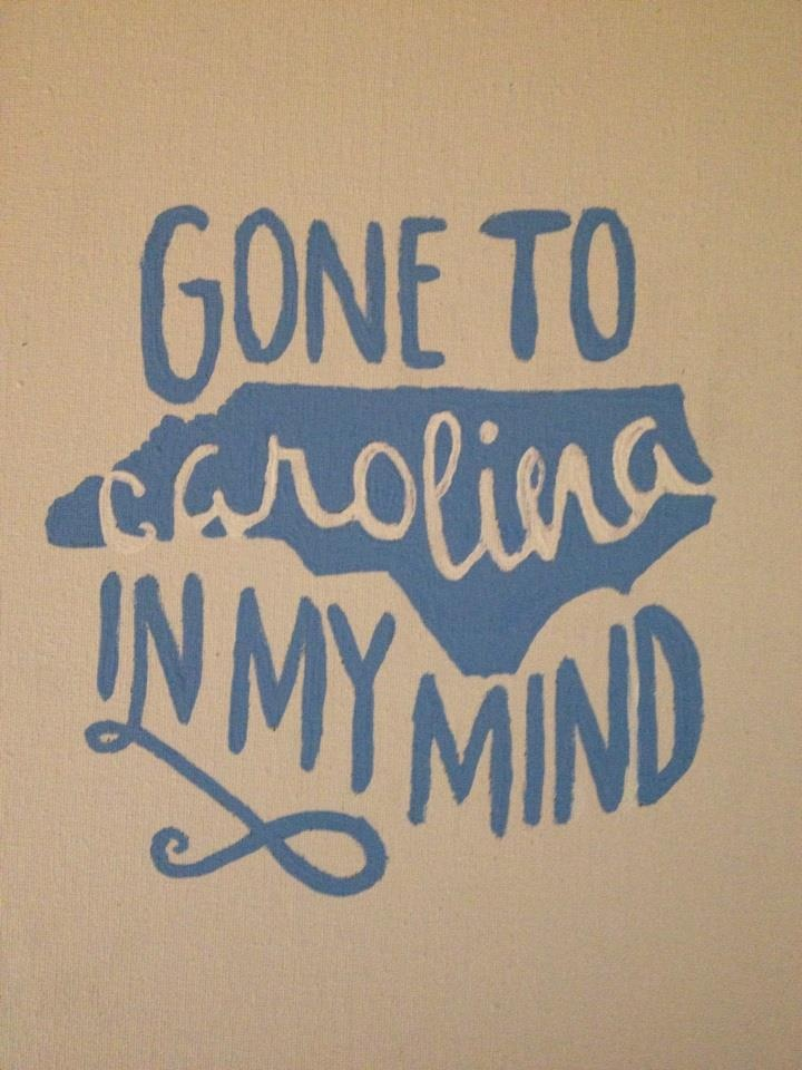 In my mind I'm gone to Carolina....can't you see the sunshine, can't you just feel the moonshine. Ain't it just like a friend of mine, to hit me from behind. Yes I'm gone to Carolina in my mind.