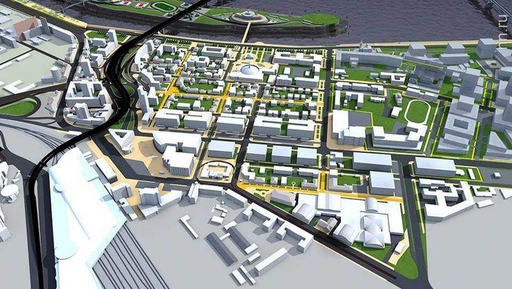 Большая пешеходная зона появится в районе Московского вокзала в Нижнем Новгороде