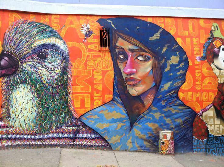Uno de los mejores murales de Valparaíso.