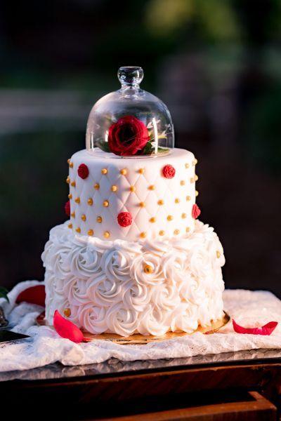 Un mariage d'inspiration conte de fées avec ce shooting La Belle et la Bête ! Image: 18