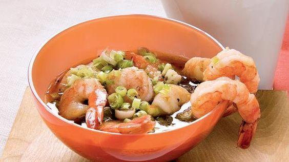 Маринованные креветки по-китайски, пошаговый рецепт с фото