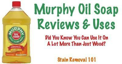 Read multiple reviews of Murphy's Oil Soap, in both the concentrated and ready to use versions, sharing how it has worked for cleaning their wood floors, and other areas of their home.