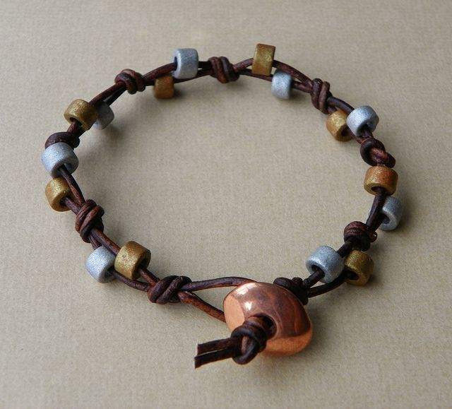 great leather n beads