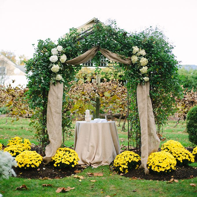 Burlap Wedding Altar: 52 Best All About Decorating The Arbor Images On Pinterest