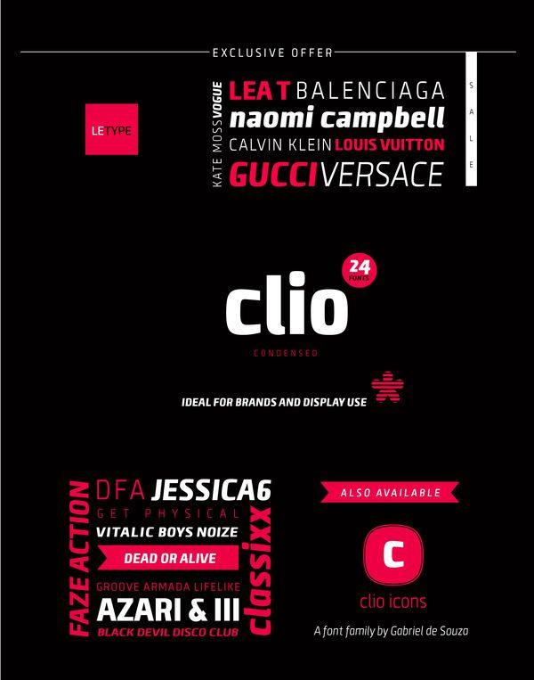 Clio Condensed By Gabriel De Souza Via Behance