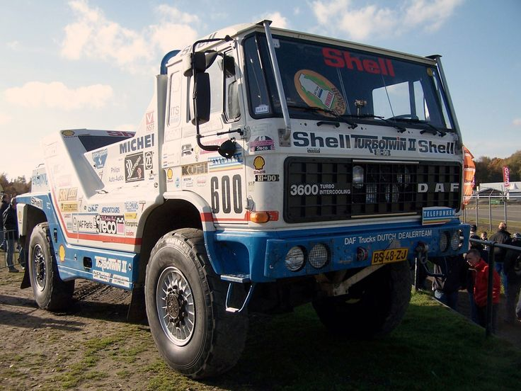 Daf Twin Turbo - Paris Dakar 1987.