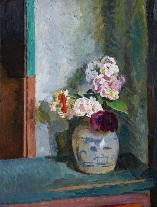 Flowers in a Ginger Jar  -  Vanessa Bell 1931