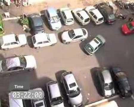 parcheggio da gran premio!