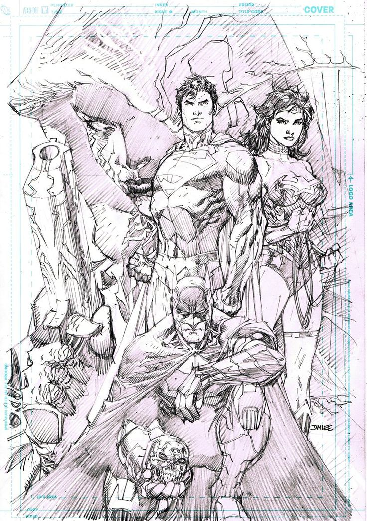 The New 52 - Batman, Superman, and Wonder Woman by Jim Lee