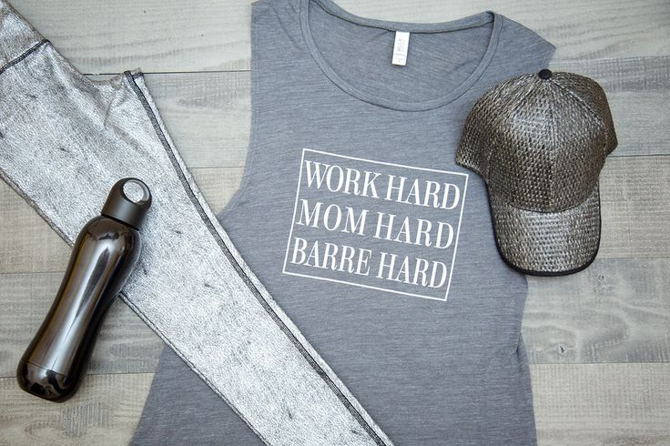 Gray Barre hard muscle tee  https://www.etsy.com/shop/AxionApparel