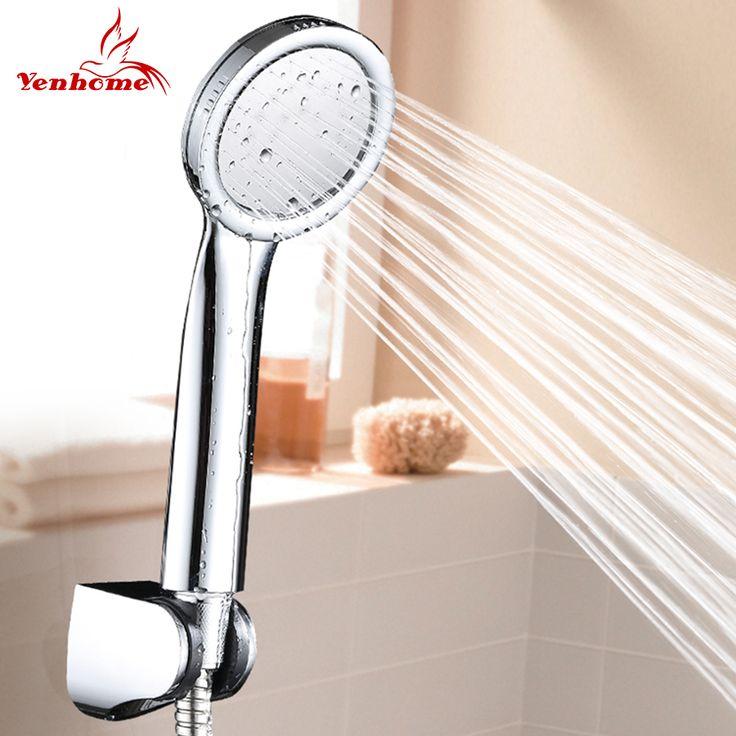 Hand Held High Pressure Shower Head ABS with Chrome Water Saving Shower Head Bathroom Shower Head Bracket And Shower Head Hose