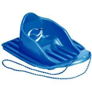 The whole family can enjoy the snow - even baby! A baby toboggan is a safe way to include baby in all of the snowy fun.