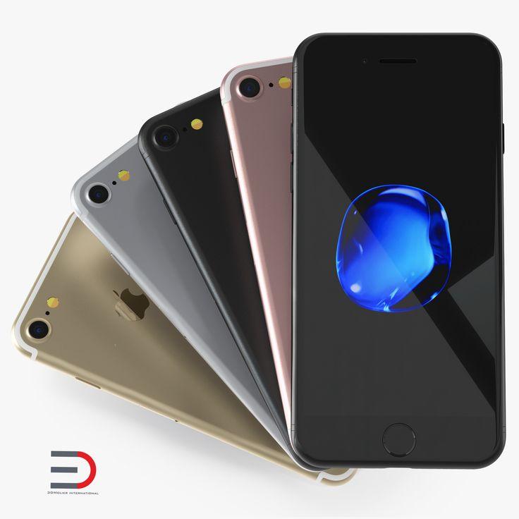 IPhone 7 3d models