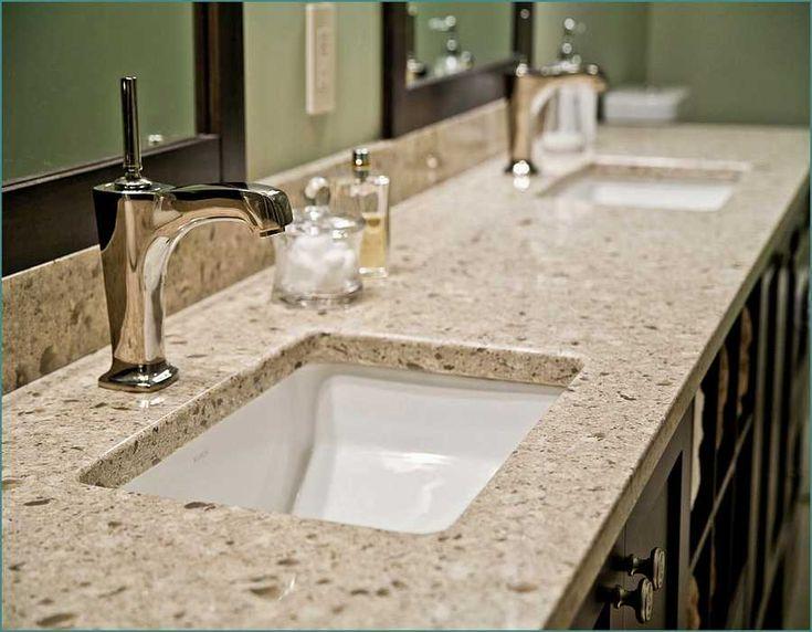 25 B Sta Quartz Bathroom Countertops Id Erna P Pinterest B Nkskiva Och Carrara