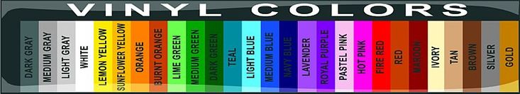 ༺༺༺♥Elles♥Heart♥Loves♥༺༺༺ ............♥Color Charts♥............ #Color #Chart #ColorChart #Inspiration #Design #Moodboard #Paint #Palette #Decorate #Art #Renovate ~ ♥Color Samples Vinyl