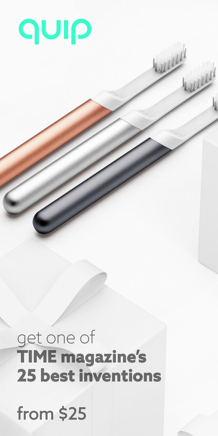Break the predictable gift cycle and opt for an upgrade, with the one of TIME's 25 best inventions of 2016. A refreshing break from the same-old gifts, the quip electric toothbrush features a 2 minute timer with 30-second guiding pulses, a slim metal body, re-usable travel cover that doubles as a mirror mount. On top of that, upkeep is incredibly convenient with brush head refills delivered every 3 months for $5!  quip - think fresh this holiday from $25