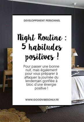 5 HABITUDES POSITIVES AVANT D'ALLER DORMIR – Good Vibes Only