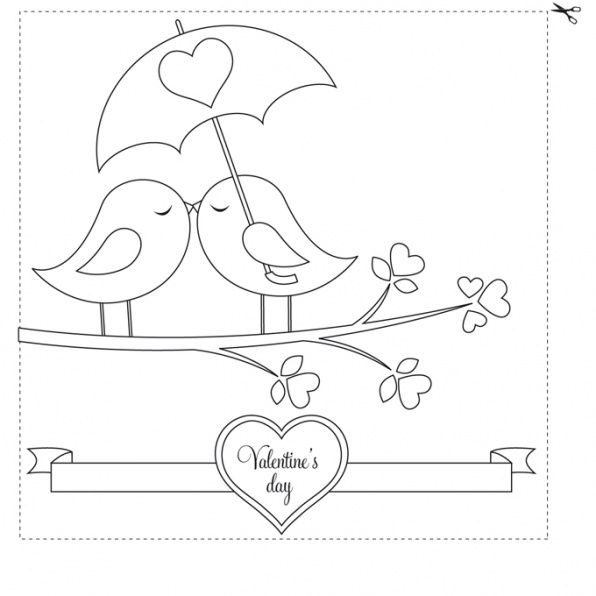 Desenho valentines day