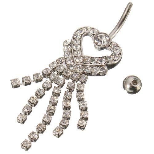 Ombligo del vientre de la perforación del anillo de las mujeres de la joyería del cuerpo de la decoración código(1034216)