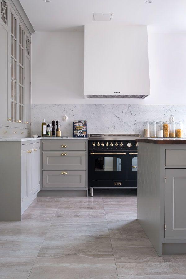 Drömkök med marmor och klinker