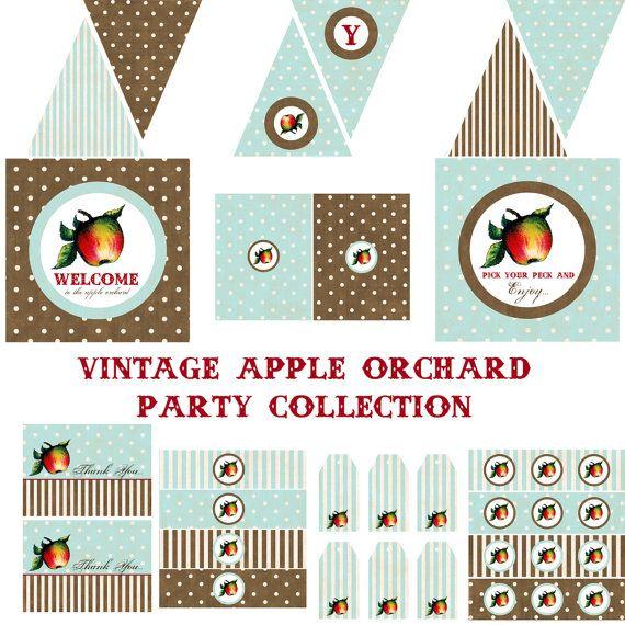1000+ Ideas About Apple Birthday Parties On Pinterest