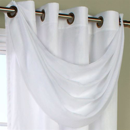 Rhapsody Thermavoile(TM) Crescent Valance Window Treatment